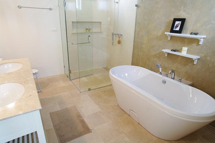 Idealnie Zaprojektowana łazienka Projekt Kwadrat